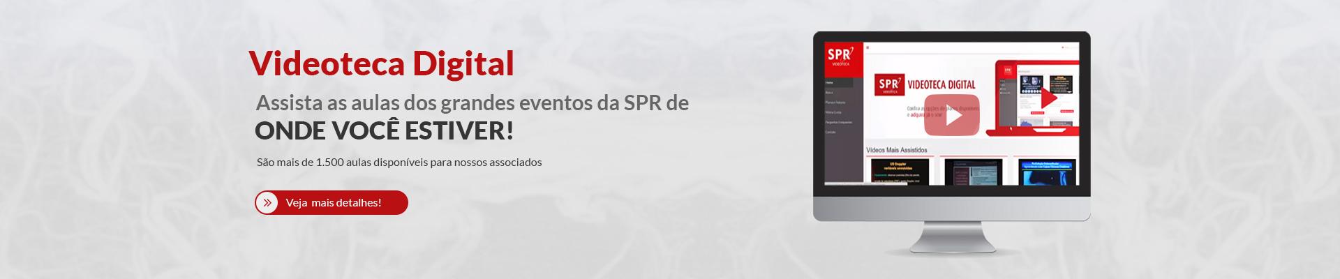 Conheça a Videoteca Digital da SPR