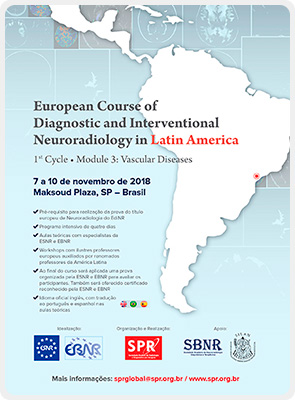 European Course of Diagnostic and Interventional Neuroradiology in Latin America