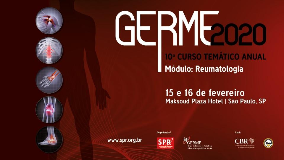 GERME 2020: Inscrições disponíveis no local