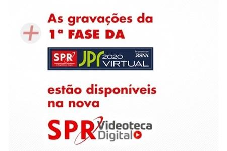 Aulas da JPR 2020 Virtual estão disponíveis na Videoteca Digital SPR