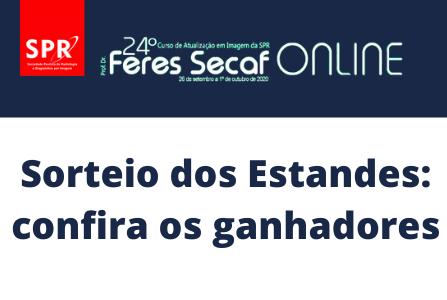 Confira os sorteados da campanha realizada no 24º Curso Feres Secaf