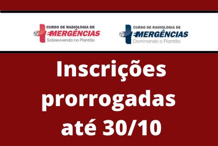 Curso de Radiologia de Emergências: Inscrições prorrogadas