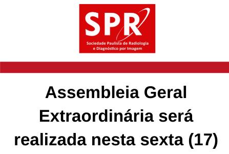 Assembleia Geral Extraordinária será realizada nesta sexta-feira (17)