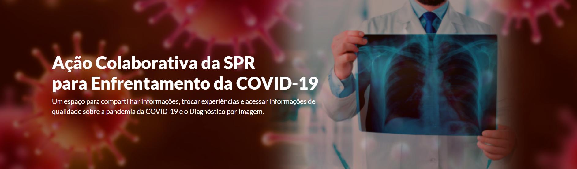 SPR lança site para enfrentamento da COVID-19 com aulas da JPR 2020 Virtual
